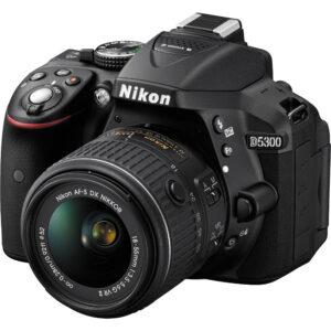Nikon D5300 DSLR w18-55mm VR Lens