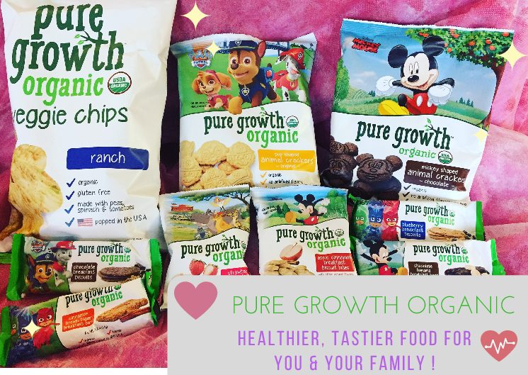 Pure Growth Organic- Healthier, Tastier Food Choices For You & Your Family